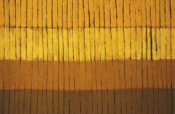 "Fields, oil on canvas, 40""x60"""