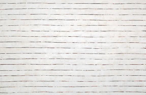 "White 5, oil on canvas, 40""x60"""