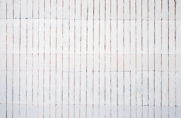 "White 9, oil on canvas, 40""x60"""